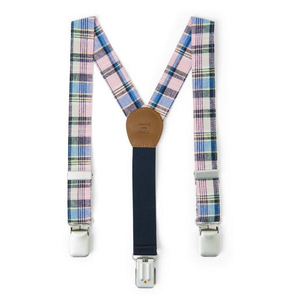 Plaid Suspender