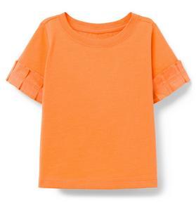 Pleated Sleeve Top
