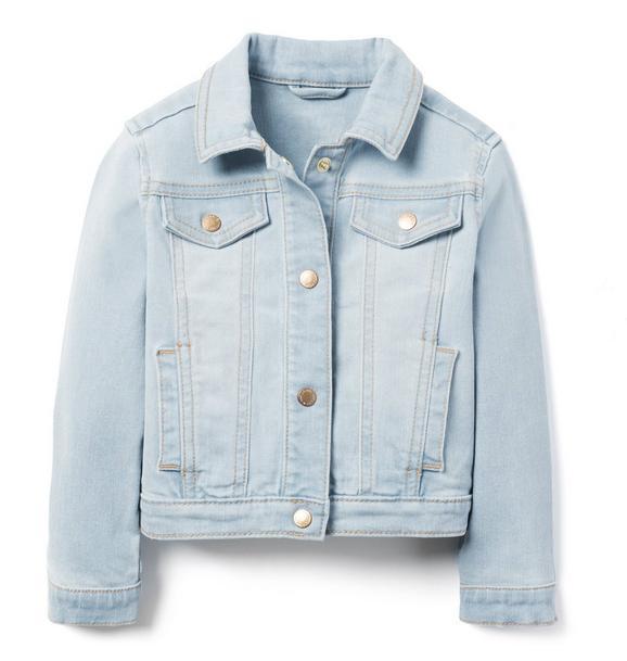 Denim Jacket In Fog City Wash