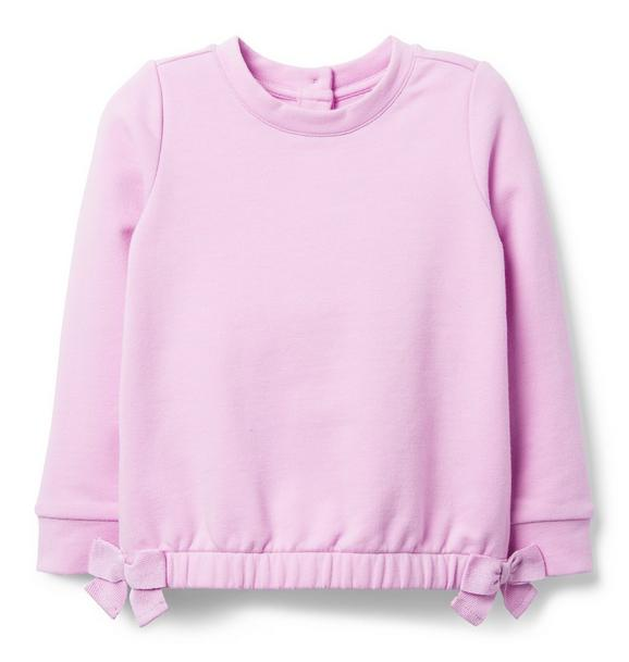 Side Bow Sweatshirt