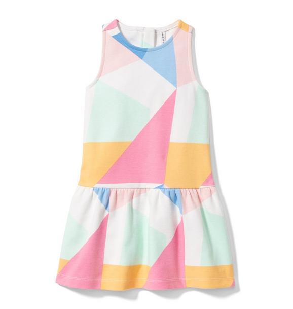 Geo Dropwaist Dress
