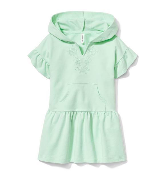 Hooded Dropwaist Dress