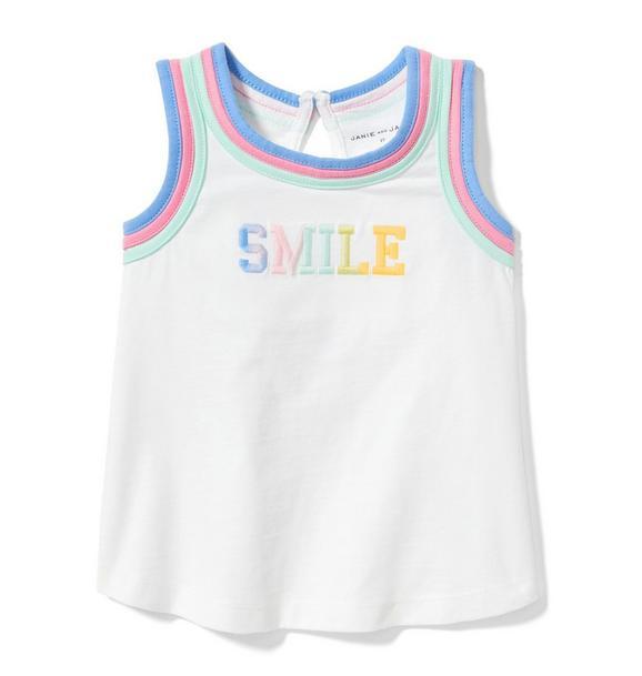 Smile Sleeveless Tee