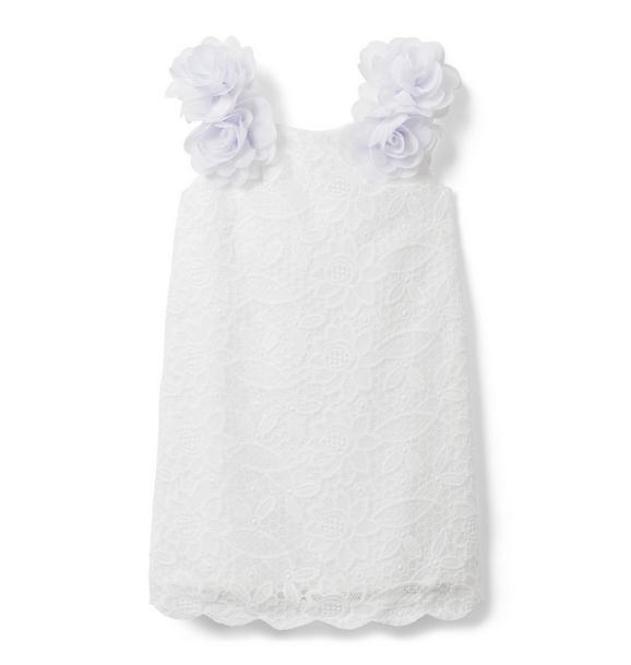 Bloom Appliqué Lace Dress
