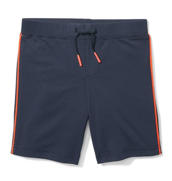 Tipped Pull-On Short