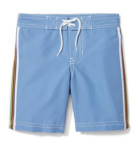 Side Stripe Swim Trunk