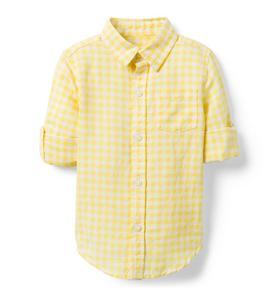 Gingham Linen Shirt