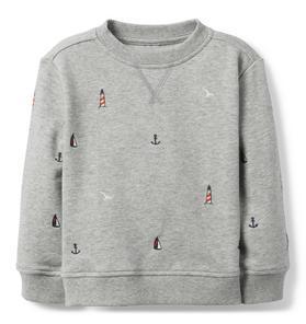 dab332001 Nautical Sweatshirt