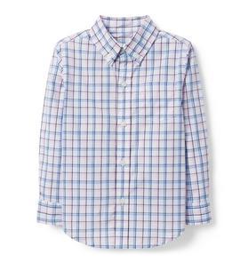 2f93f1e07f Plaid Poplin Shirt