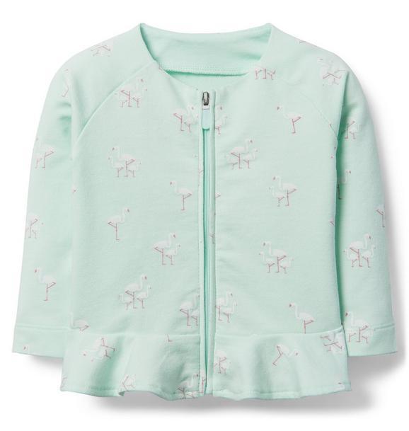 Flamingo Peplum Jacket