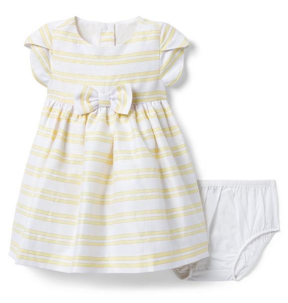 Striped Bow Dress