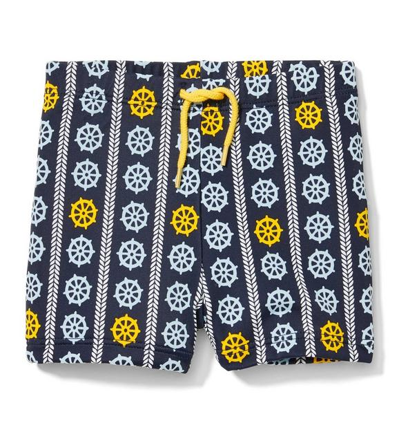 Ship Wheel Swim Short