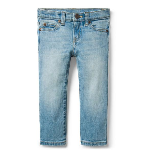 Straight Jean In Mist Wash