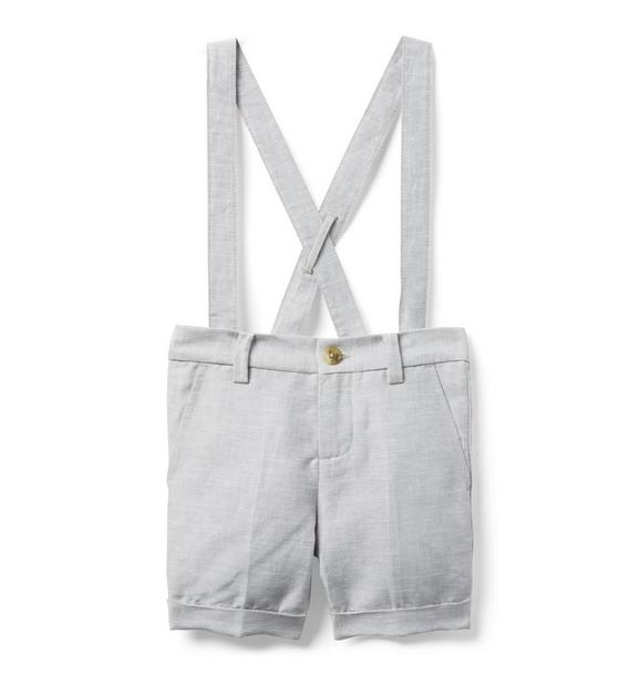 Linen Suspender Short