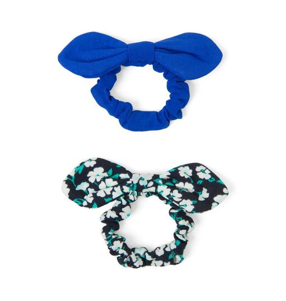 Bow Scrunchie 2-Pack