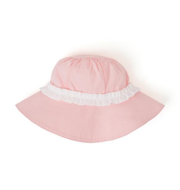 Ruffle Bucket Hat