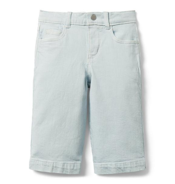 Wide-Leg Jean In Cool Sky Wash