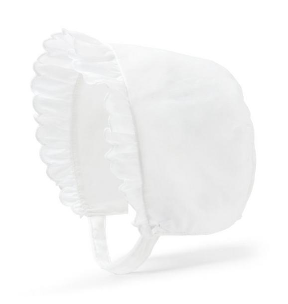 Ruffle Bonnet