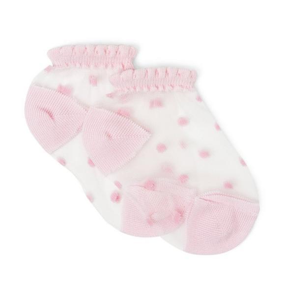 Sheer Dot Sock