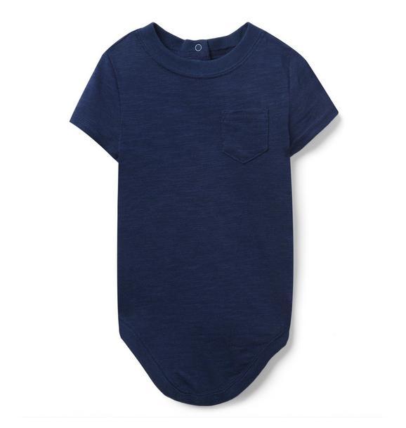 Slub Pocket Bodysuit