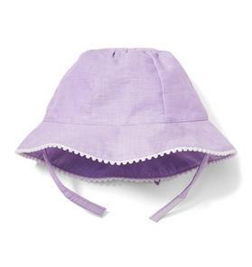 971d236c3 Linen Bow Sun Hat