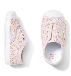 Ditsy Floral Sneaker Crib Shoe