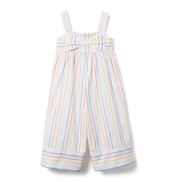 AERIN Multicolor Striped Wide-Leg Jumpsuit
