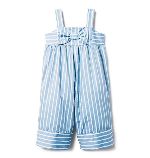 AERIN Striped Wide-Leg Jumpsuit
