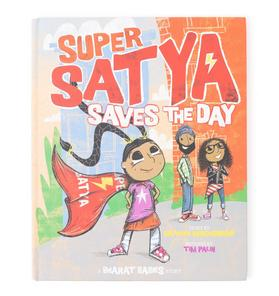 Super Satya Saves the Day Book