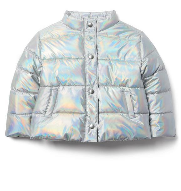 Juno Valentine Iridescent Puffer Jacket