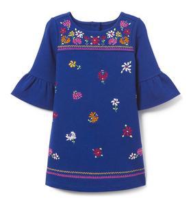 Juno Valentine Embroidered Floral Dress