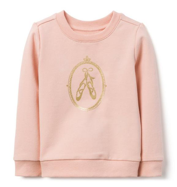 Ballerina Slipper Sweatshirt