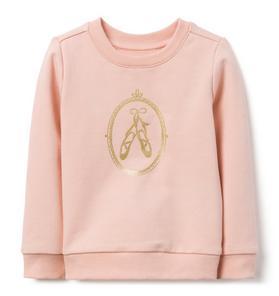 Ballerina Slipper Sweatshirt