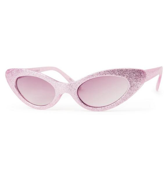 Juno Valentine Shimmer Cat Eye Sunglasses