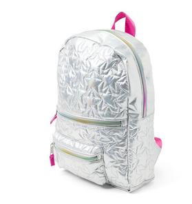 Metallic Star Backpack