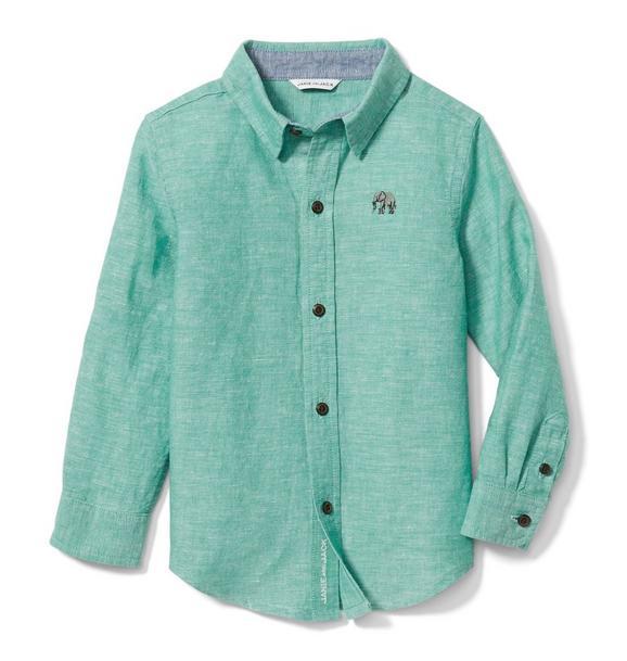 Elephant Linen Shirt