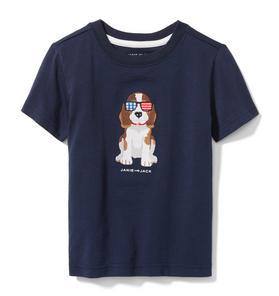 Patriotic Dog Tee