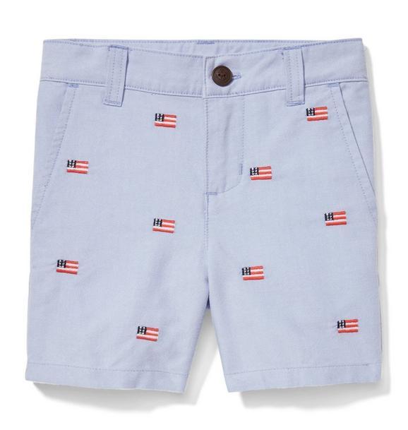 American Flag Oxford Short