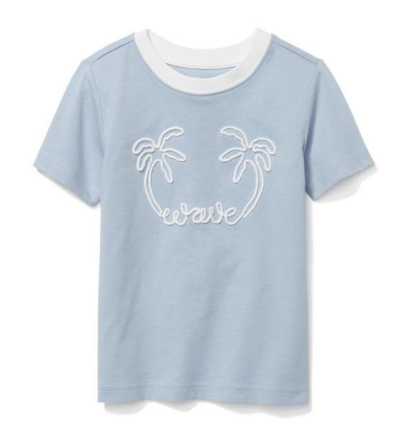 Palm Wave Tee