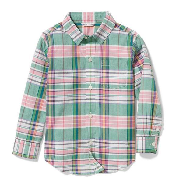 Madras Plaid Shirt
