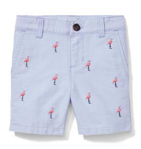 Flamingo Oxford Short