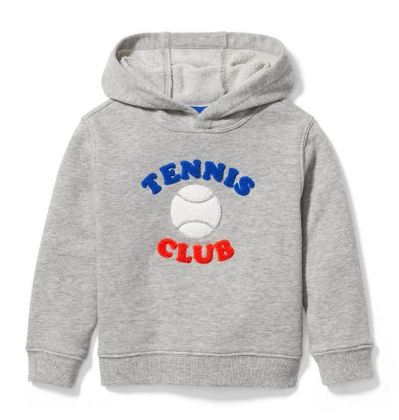 Tennis Club Hooded Sweatshirt