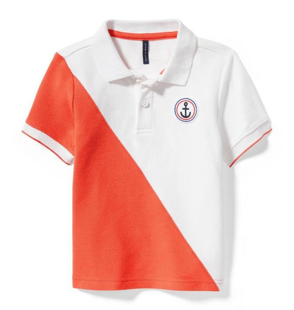 Anchor Colorblock Polo