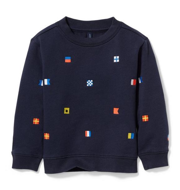 Nautical Flag Sweatshirt