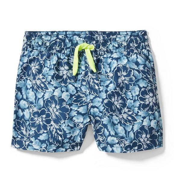 Tropical Floral Swim Trunk