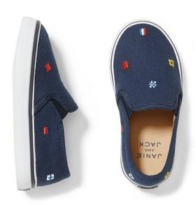 Nautical Flag Slip-On Sneaker