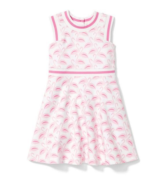 Flamingo Ponte Dress