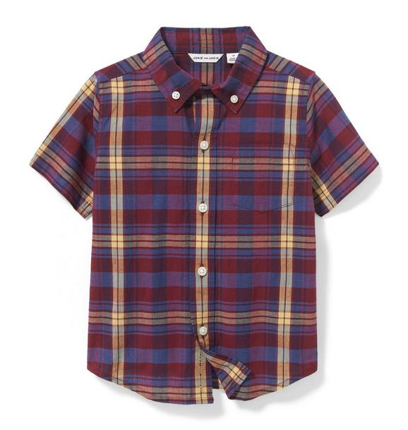 Madras Plaid Shirt
