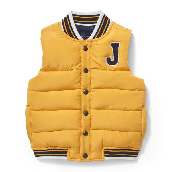 Patch Puffer Vest by Janie And Jack