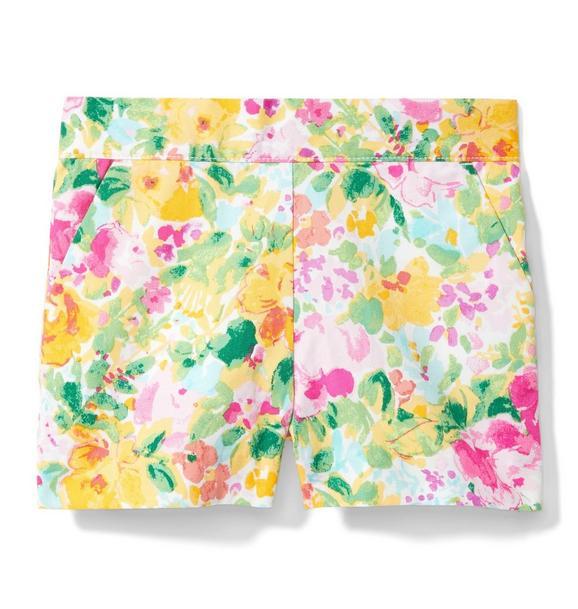 Floral Poplin Short